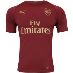 Camisa Arsenal 2018 19 Treino Masculino Puma fc667d5966800
