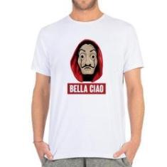 Imagem de Camiseta masculina la Casa de Papel bella ciao