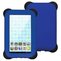 "Tablet Multilaser Kid Pad 8GB LCD 7"" Android 4.4 (Kit Kat) 1,3 MP NB124"