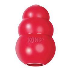 Brinquedo Kong Classic Cães Vermelho - Tamanho M
