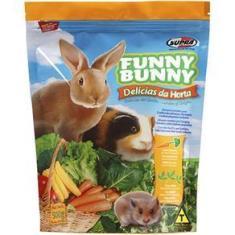 Imagem de Ração Supra Para Coelhos E Pequenos Roedores Funny Bunny 500Gr