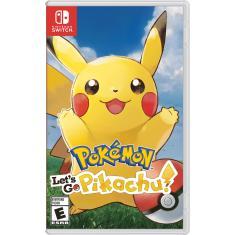 Jogo Pokémon Let's Go, Pikachu! Nintendo Nintendo Switch
