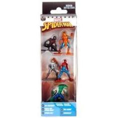 Imagem de Metals Die Cast - Nano Metalfigs - Marvel Spider-Man 5 Pack A