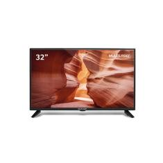 "TV LED 32"" Multilaser TL017 2 HDMI USB"