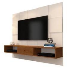 Imagem de Painel Para TV JB 5025 Luxo Perola/Caramelo - JB Bechara