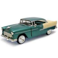 Imagem de 1955 Chevrolet Bel Air Verde - Escala 1:24 - Motormax