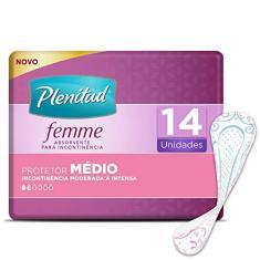 Imagem de Plenitud Absorvente Médio, Femme, 14 unidades