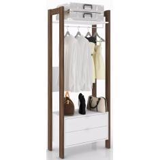 Imagem de Guarda-Roupa Closet 2 Gavetas Belga Tecno Mobili
