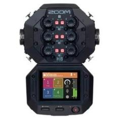 Imagem de Gravador De Áudio Zoom H8 Handy Recorder Black