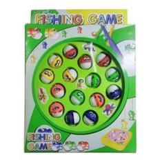 Imagem de Pescaria Brinquedo Divertido Pega Peixe Didático Educativo