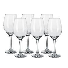 Imagem de Jogo De Taças Para Vinho Em Vidro 385Ml Nadir Barone 6 Peças