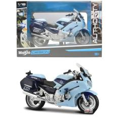 Imagem de Moto Yamaha FJR1300A - Policia Estadual - Authority Police Motorcycles - 1/18 - Maisto