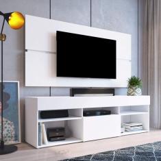 Imagem de Rack com Painel Para TV até 55 Polegadas e 1 Porta Miami Beach Yescasa