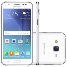Smartphone Samsung Galaxy J5 J500MDS 16GB Qualcomm Snapdragon 410 13,0 MP 2 Chips Android 5.1 (Lollipop) 3G 4G Wi-Fi