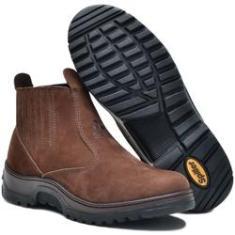 Imagem de Botina Masculina Touro Spiller Shoes - Marrom