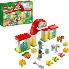 Imagem de Lego Duplo - Estábulo De Cavalos E Pôneis 10951
