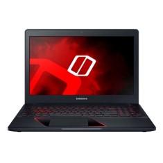 "Notebook Samsung Odyssey NP800G5M Intel Core i7 7700HQ 15,6"" 8GB HD 1 TB GeForce GTX 1050 7ª Geração"