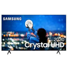 "Smart TV LED 65"" Samsung Crystal 4K HDR UN65TU7000GXZD"