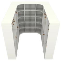 Imagem de Guarda-Roupa Closet 6 Gavetas M14 Vetorial Móveis