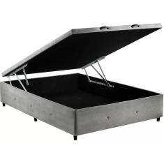 Imagem de Base Cama Box Baú Casal com Baú 138cm Sono Design