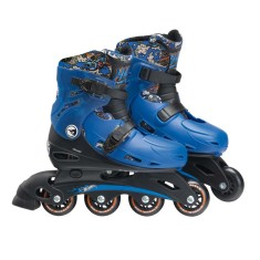 Patins In-Line Hot Wheels Fun 7785-6
