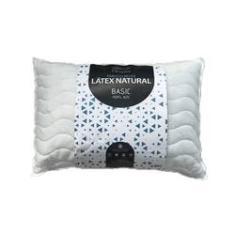Imagem de Travesseiro Flocos De Látex Natural Basic 18 cm Perfil Alto Látex Foam