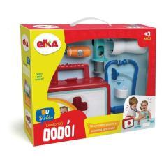 Imagem de Brincando De Profissoes Kit Medico Dr.dodoi - Elka