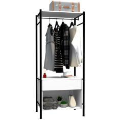 Imagem de Guarda-Roupa Closet 1 Gaveta Berlim Artefamol