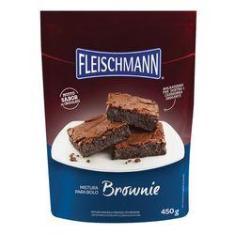 Mistura Para Bolo Fleischmann Brownie 450 Gramas