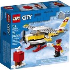 Imagem de Lego City Blocos De Montar Aviao Correio Com 74 Peças 60250