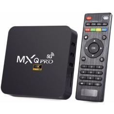 Imagem de Smart TV Box MXQ PRO 5G 16GB 4K Android TV HDMI USB