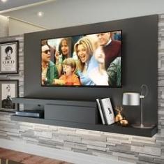 Imagem de Home Painel Para Tv Até 60 Polegadas Kd2000 Grafite - Quiditá