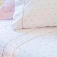 Imagem de jogo de cama casal scavone 200 fios 100% algodão básico stella