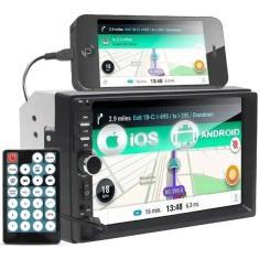 "Imagem de Central Multimídia Automotiva First Option 7 "" 7810H Touchscreen Bluetooth"