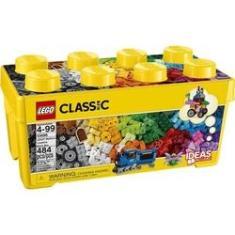 Imagem de LEGO Classic 10696 Caixa Media de Pecas Criativas 484 Pecas