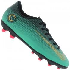 Foto Chuteira Campo Nike Mercurial Vapor XII Club CR7 Infantil bfe77e08018fe