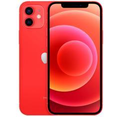 Smartphone Apple iPhone 12 Vermelho 256GB iOS Câmera Dupla