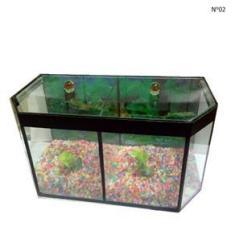 Imagem de Aquario Beteira Para Peixe Betta Com Divisória Para Dois