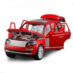 Imagem de 01:24 liga modelo de carro Diecast - Land Rover - Red