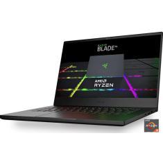 """Notebook Gamer Razer Blade 14 AMD Ryzen 9 5900HS 14"""" 16GB SSD 2 TB GeForce RTX 3070 Windows 10"""