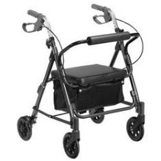 Imagem de Andador 4 Rodas Aluminio Prata Mobil