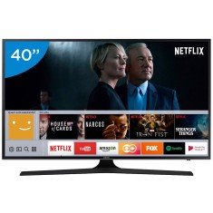 "Smart TV TV LED 40"" Samsung Série 6 4K HDR Netflix 40MU6100 3 HDMI"