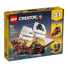Imagem de LEGO 31109 Creator 3 Em 1 - Barco Pirata