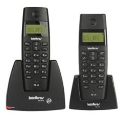 Telefone sem Fio Intelbras com 1 Ramal TS 40C