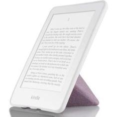 Imagem de Capa Kindle Paperwhite WB Auto Hibernação Sensor Magnético Silicone Flexível Origami Estilo Tecido