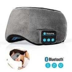 Imagem de Mascara de Dormir Bluetooth com Fone de Ouvido Tapa Olho Sono Tranquilo Musica