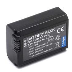Imagem de Bateria NP-FW50 para câmera digital e filmadora Sony NEX-3, NEX-3A, NEX-3D, NEX-5, NEX-5K
