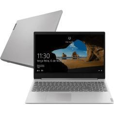 "Notebook Lenovo IdeaPad S145 81v70001br AMD Ryzen 5 3500U 15,6"" 4GB HD 1 TB Windows 10"