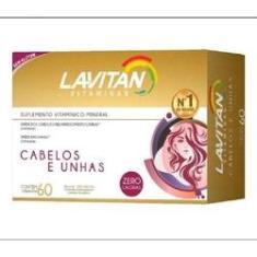 Lavitan Mais Hair Cabelos e Unhas 60 Cápsulas (Saúde Capilar)