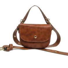 Imagem de Mensageiro selvagem feminino saco de ombro largo Strap Velvet Bolsa de Ombro Pequenas